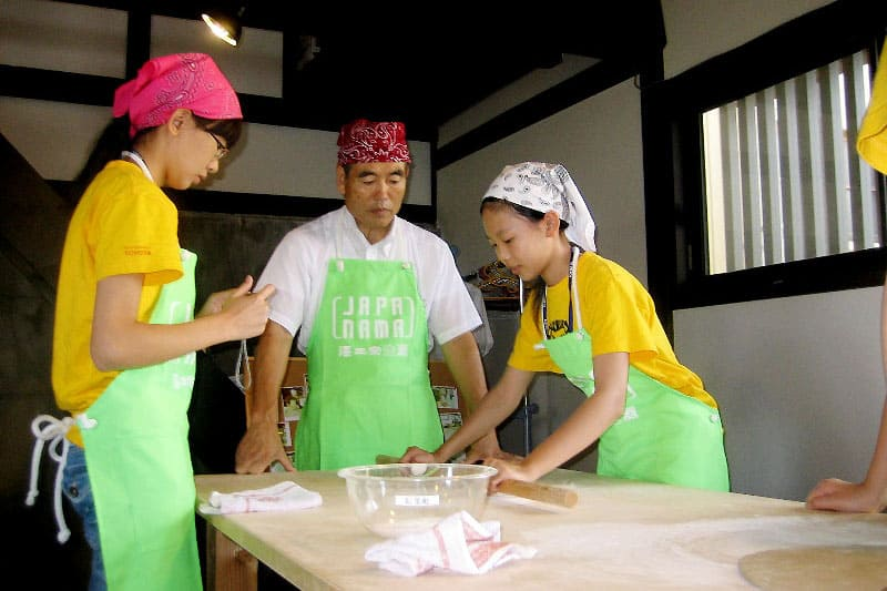 Hands-on Soba Making